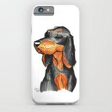 Brush Breeds-Black-and-Tan Coonhound iPhone 6 Slim Case