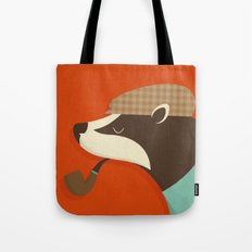 Country Badger Tote Bag