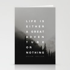 Adventure or Nothing Stationery Cards