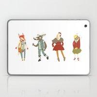 Vintage animals Laptop & iPad Skin