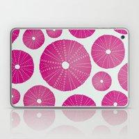 Sea's Design - Urchin Skeleton (Deep Pink) Laptop & iPad Skin