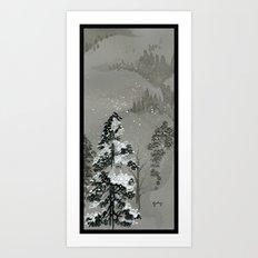 Duck Mountain Art Print