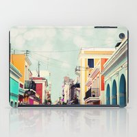 Colorful Buildings of Old San Juan, Puerto Rico iPad Case