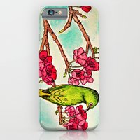 iPhone & iPod Case featuring Japanese White-Eye by Bottle of Jo