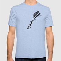 Wonderful Pianist Mens Fitted Tee Athletic Blue SMALL