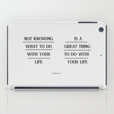 Notknowing iPad Case