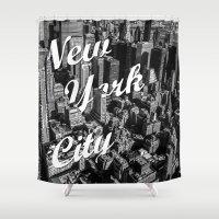 New York City Shower Curtain
