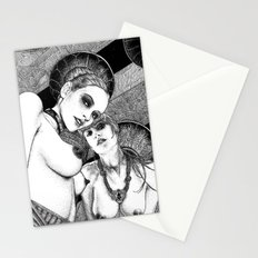 asc 670 - Les gardiennes de la nuit (Come with us) Stationery Cards