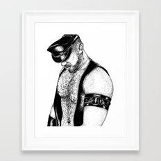 handsome hardcore Framed Art Print