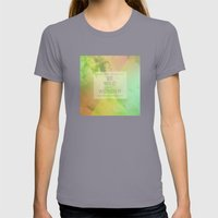 Be Wild Womens Fitted Tee Slate SMALL