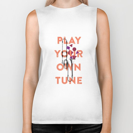 Play you own tune Biker Tank