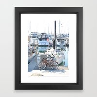 Living on the Go Framed Art Print