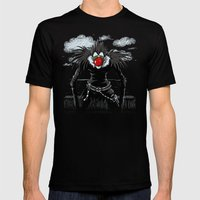 Ryuk Magritte Mens Fitted Tee Black SMALL