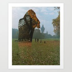 Diminished Expectations Art Print