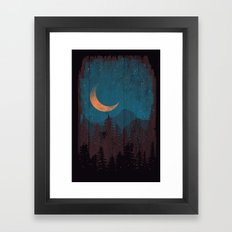 Those Summer Nights... Framed Art Print