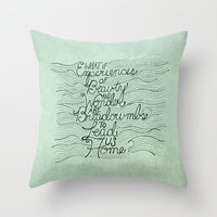Breadcrumbs Throw Pillow