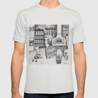 Baking Cats Mens Fitted Tee Silver SMALL