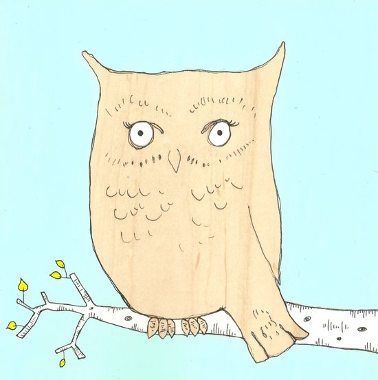 Owl's Place Art Print