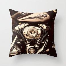 HD Brown tone Throw Pillow