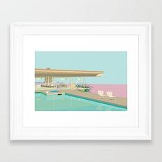 Stahl House Framed Art Print