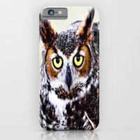 iPhone & iPod Case featuring Great Horned Owl by Eye Shutter to Think
