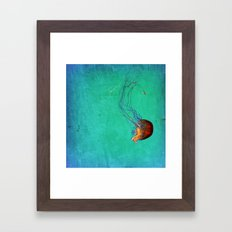 Deep Sea Ballet Framed Art Print
