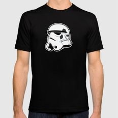 Trooper Bucket - Star Wars SMALL Mens Fitted Tee Black