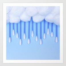 Cloud Cotton Art Print