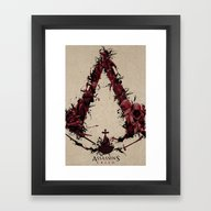 Assassin's Creed Saga Framed Art Print