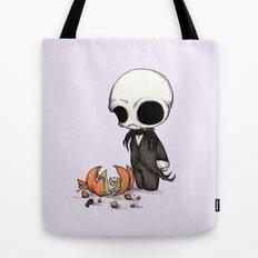Smashing Pumpkin King Tote Bag
