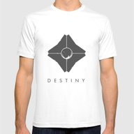 Destiny Awaits Mens Fitted Tee White SMALL