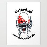 Motordead Art Print