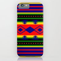 iPhone & iPod Case featuring Aztec Summer by Tanella