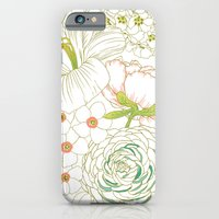 iPhone & iPod Case featuring Big Blooms by Patty Sloniger