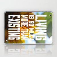 Living&existing Laptop & iPad Skin