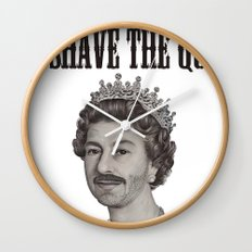 God shave the Queen Wall Clock