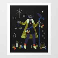 Witch Series: Potions Art Print