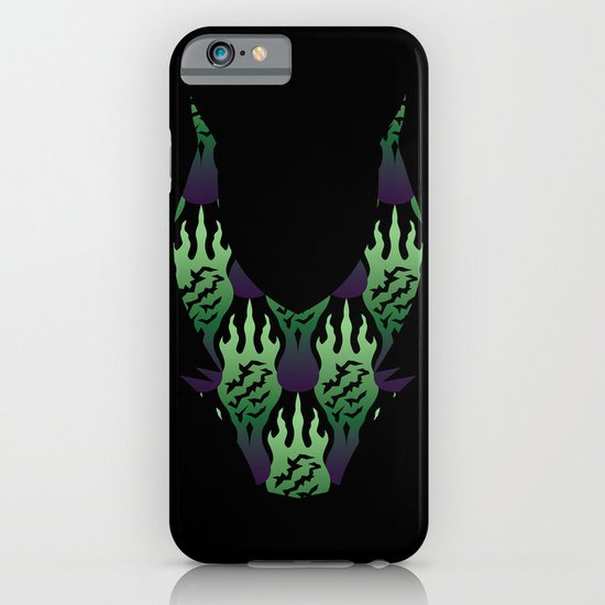 SCORCH pattern ~ Maleficent  iPhone & iPod Case