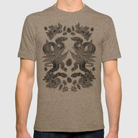 Serpent's Choir Mens Fitted Tee Tri-Coffee SMALL
