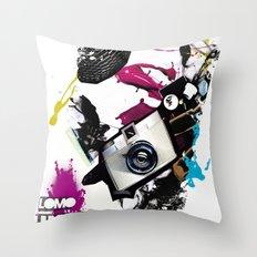 :: LOMO JUNKIE Throw Pillow
