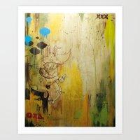 Hasenfusz / Rabbitfoot Art Print