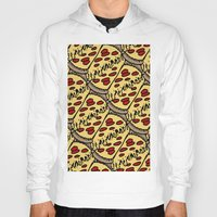 pattern pizza Hoody