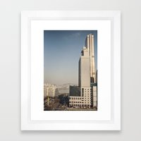 River Tower - Yeouido - … Framed Art Print