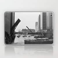 Chicago River Bridges Bl… Laptop & iPad Skin