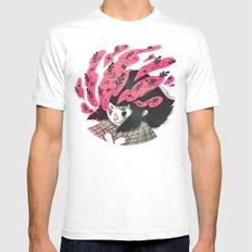 Nature vs Nurture SMALL Mens Fitted Tee White