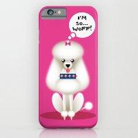 Chic Poodle iPhone 6 Slim Case