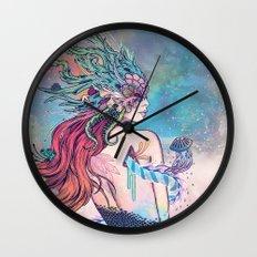 The Last Mermaid Wall Clock