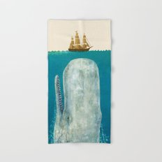 The Whale - colour option Hand & Bath Towel
