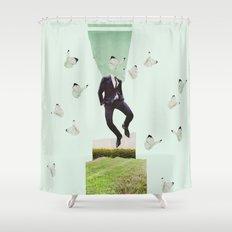 Butterflyman Shower Curtain