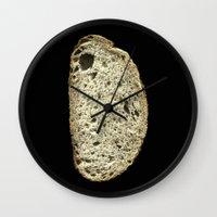 Gluten Wall Clock